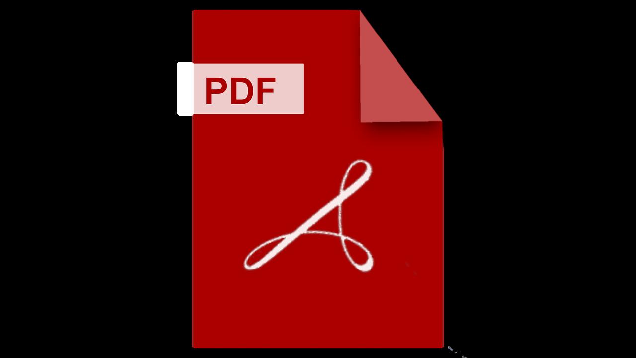 Pdf Logo Adobe Filetype Mime Type  - vowblog_official / Pixabay